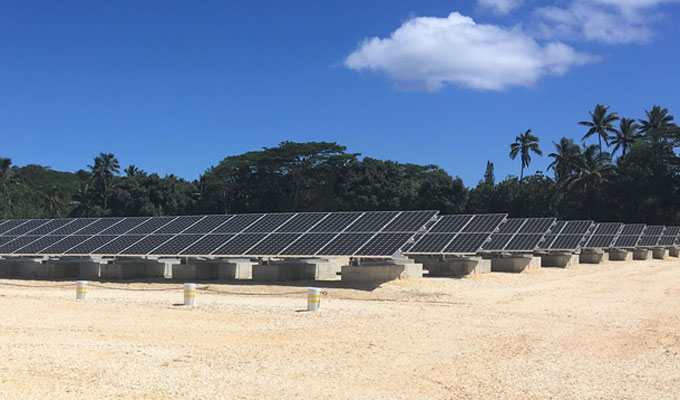 Entura is supporting hybrid renewable energy developments in the Cook Islands
