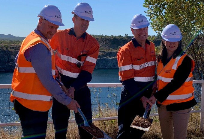 L-R: Glenn Butcher, Queensland Minister for Regional Development and Manufacturing and Minister for Water, James Harding, Genex Chief Executive Officer, Dr. Ralph Craven, Genex Non-Executive Chairman and Senator Susan McDonald, Senator for Queensland.